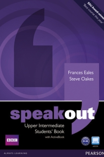 Portada del Speakout Upper Intermediate Students Book and DVD/Active Book Multi-ROM