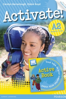 Portada del libro: Activate! A2 Students' Book with Access Code and Active Book Pack