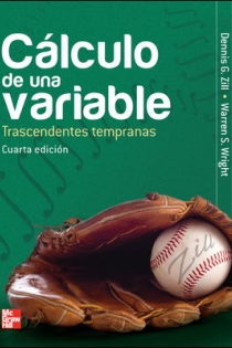 Portada del libro: CALCULO DE UNA VARIABLE