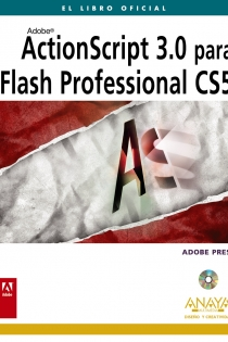 Portada del libro ActionScript 3.0 para Flash Professional CS5