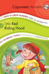 Portada del Caputxeta Vermella/Little Red Riding Hood